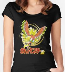 Pocket Monsters: Gold Women's Fitted Scoop T-Shirt