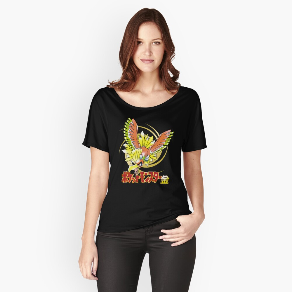 Pocket Monsters: Gold Women's Relaxed Fit T-Shirt Front
