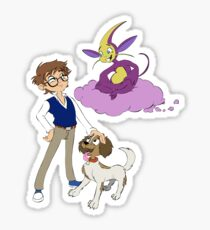 Digby, Dax and Loo Sticker