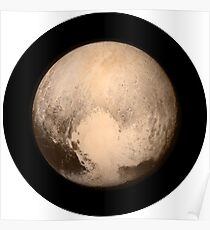 IT'S REALLY PLUTO'S HEART - HIGH QUALITY IMAGE Poster