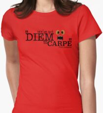 We've got Diem to Carpe! Flint lockwood Women's Fitted T-Shirt