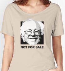 Bernie Sanders is not for sale Women's Relaxed Fit T-Shirt