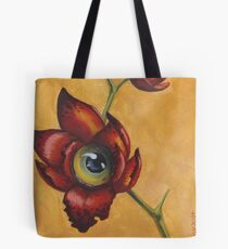Eyeball Orchid Tote Bag