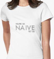 Naiv - Die Kooks Tailliertes T-Shirt für Frauen