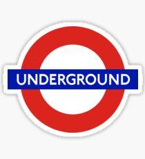 London Underground Tube Station  Sticker