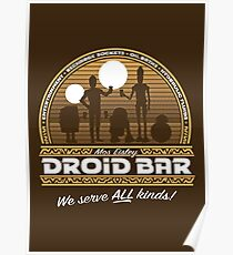 Droid Bar Poster