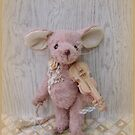 Handmade bears from Teddy Bear Orphans - Marta Mouse by Penny Bonser