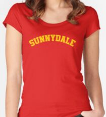 Sunnydale High School Tee Women's Fitted Scoop T-Shirt
