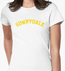 Sunnydale High School Tee Womens Fitted T-Shirt