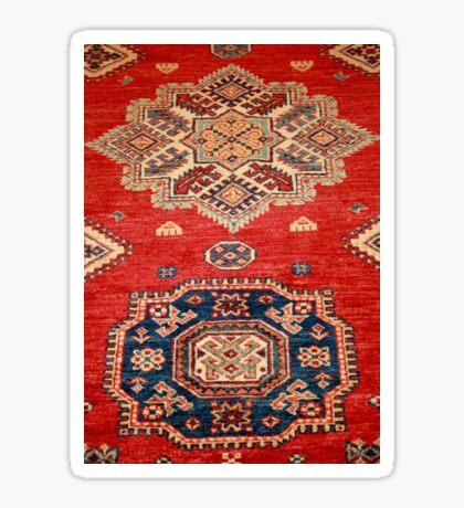 Natural Dyed Handmade Anatolian Carpet Sticker
