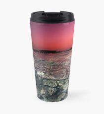 Sunset Over the Red Sea Reef Travel Mug