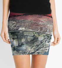 Sunset Over the Red Sea Reef Mini Skirt