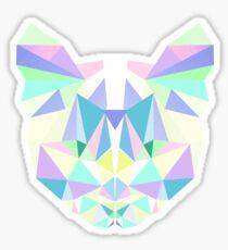 Pastel Crystal Cat Sticker