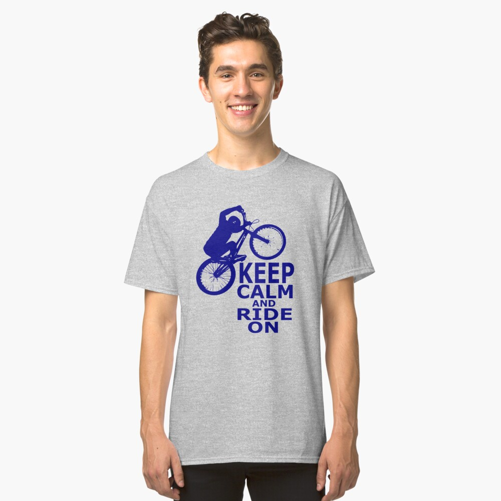 Mountain Bikes Classic T-Shirt Front