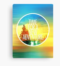New Adventure 2.0 Canvas Print