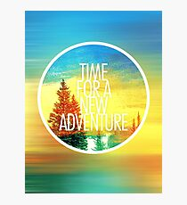 New Adventure 2.0 Photographic Print