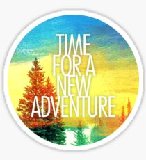 New Adventure 2.0 Sticker