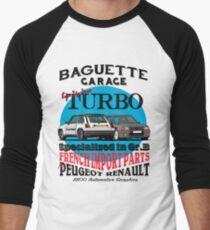 Baguette-Garage Baseballshirt für Männer
