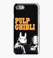 Pulp Ghibli - Studio Ghibli and Pulp Fiction iPhone Case/Skin