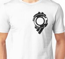 Ghost in the Shell - Public Security Section 9 Logo (Black Logo) Unisex T-Shirt