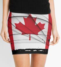 Canadian Flag Mini Skirt