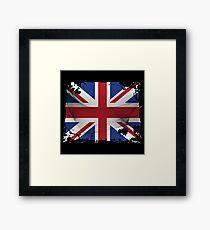 United Kingdom Flag Framed Print