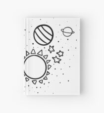 Outer Space Hardcover Journal