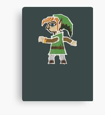 Link Between Two Worlds stuck on your shirt Canvas Print