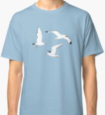 Seagulls Gathering at the Cricket Classic T-Shirt
