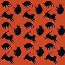 black kitties by allnightlong