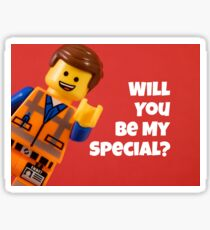 Will You Be My Special? Sticker
