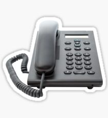 VoIP Phone with LCD Display Sticker