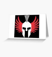 Lorenzo Spartan Greeting Card