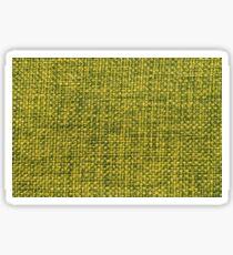 Green fabric texture Sticker