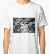 Black and White Tree Classic T-Shirt