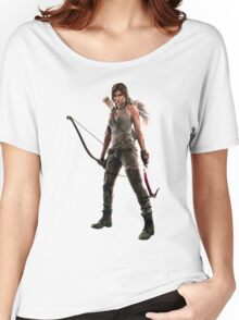 Rise of the Tomb Raider Women's Relaxed Fit T-Shirt