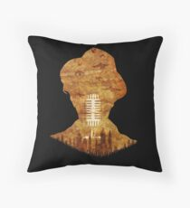 A Waits Podcast Throw Pillow