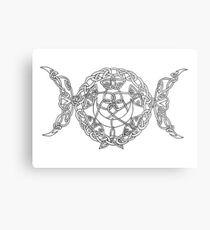 Triple Goddess Metal Print