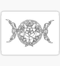 Triple Goddess Sticker