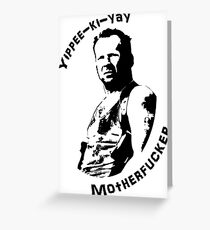 Die Hard Greeting Card