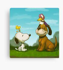 0034 - Bird Dogs Canvas Print