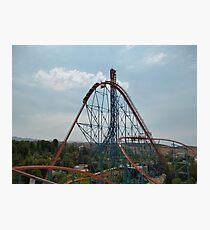 Goliath Roller Coaster Photographic Print