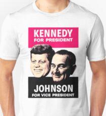 KENNEDY/JOHNSON Unisex T-Shirt