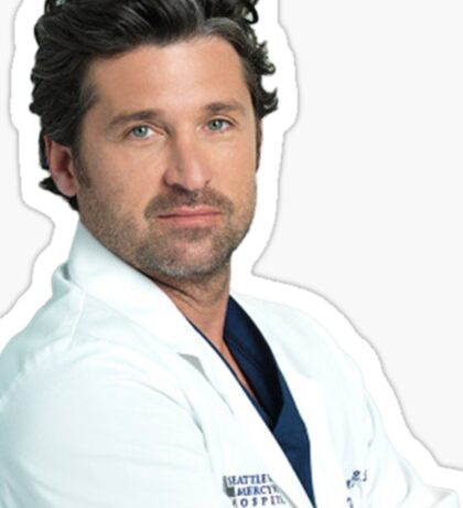 Doctor McDreamy Sticker