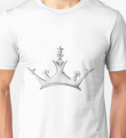 Queen's Crown - Watercolor Queen / Empress / Princess Crown Design T-Shirt