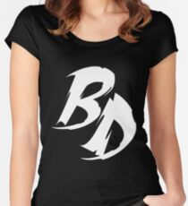 RL9 - Bass Donor Special Collaboration  Women's Fitted Scoop T-Shirt