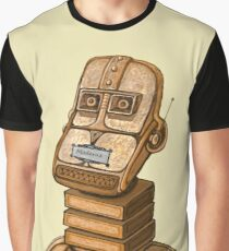 Moderne Robot   Graphic T-Shirt