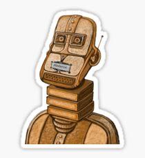 Moderne Robot   Sticker