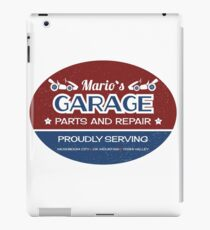 Mario's Garage iPad Case/Skin