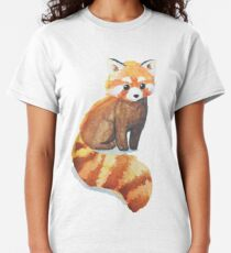 Roter Panda Classic T-Shirt